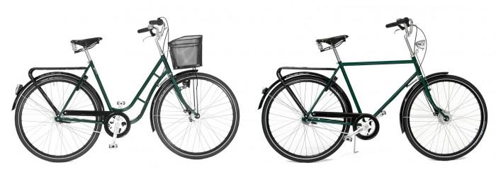 skjutsa vuxen på cykel