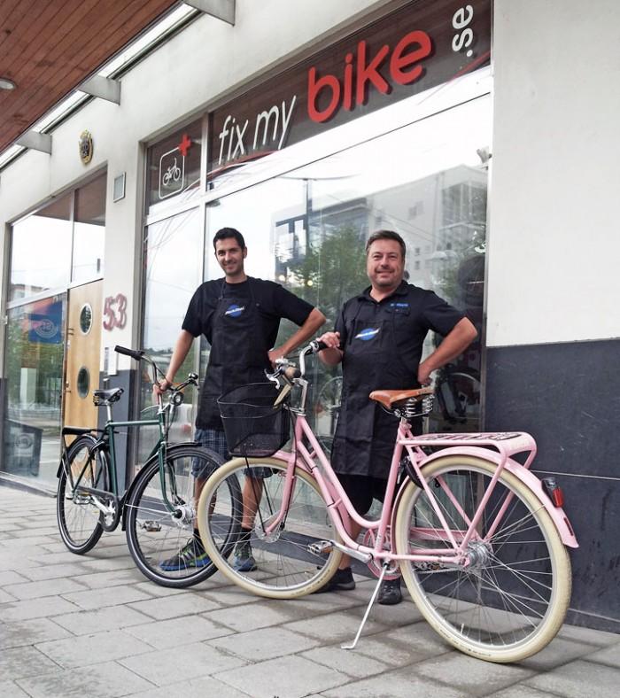 Fix my Bike och Pilen